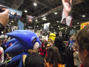 Very interesting stand off between Sonic and Vader